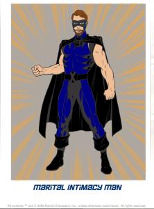 Marital Intimacy Man superhero