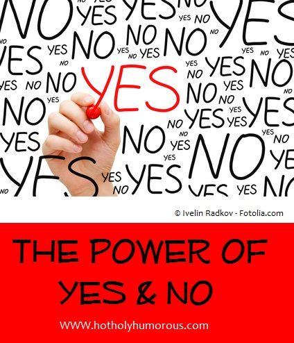 Yeses and Nos - with Yes bolded