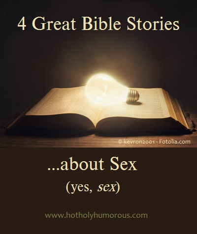 Bible with lit light bulb on top