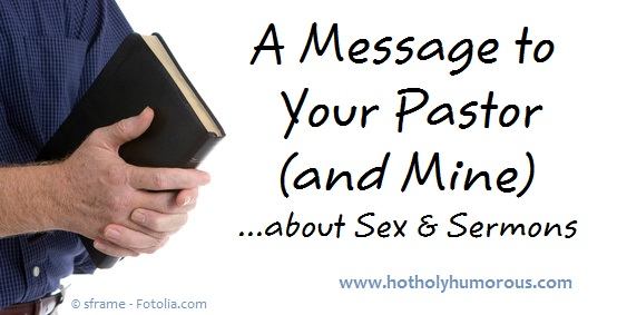 Pastor's hands holding Bible & blog post title