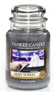 Man Town Candle