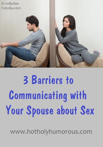 Couple with barrier between them + blog post title