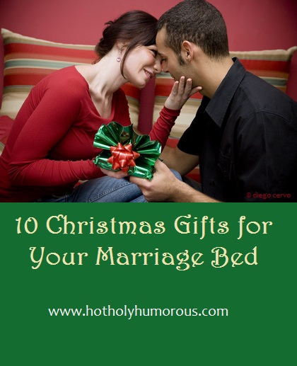 10 Christmas Gifts for Your Marriage Bed