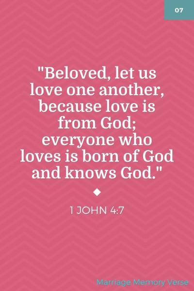 Marriage Memory Verse 2-20-16