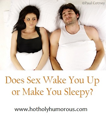 Why are you tired after sex