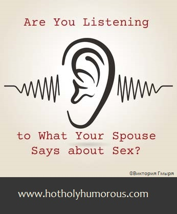 Are You Listening to What Your Spouse Says about Sex? with ear icon