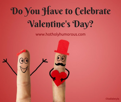 Do You Have to Celebrate Valentine's Day with finger puppet man and woman