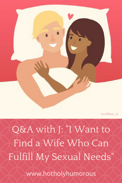 Blog post title + with smiling couple in bed (illustration)