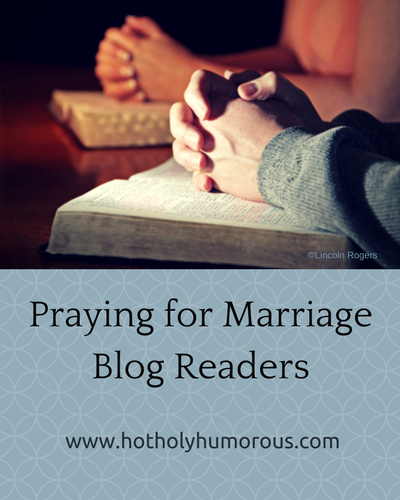 Blog post title + two sets of hands praying on tops of Bibles