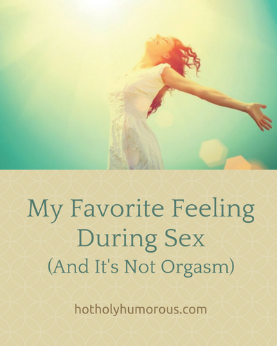 Blog post title + woman throwing arms out in excitement, sunshine shining on her