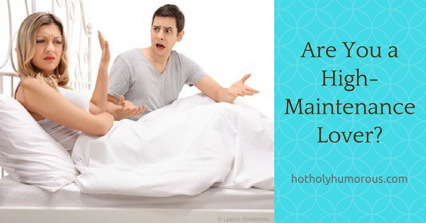 Blog post title + couple in bed arguing