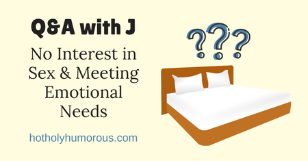 Blog post title + illustration of bed with question marks above