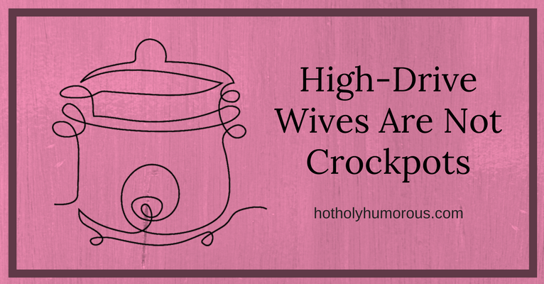 Sketch of a crockpot with blog post title