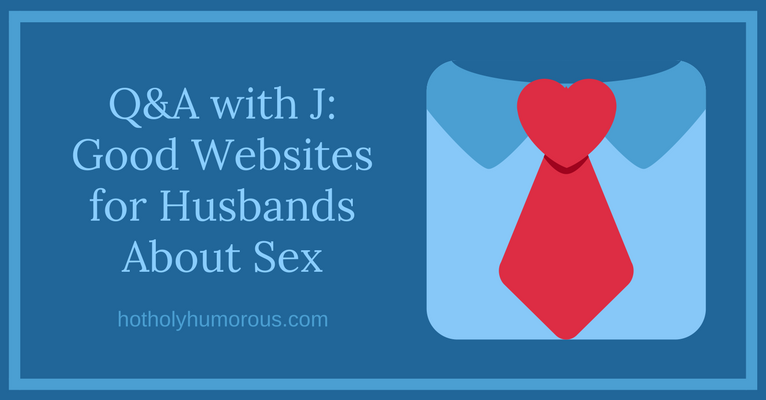 Blog post title + illustration of man's shirt with necktie (bow shaped in a heart)
